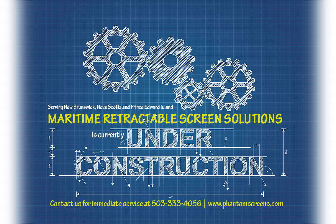 Under construction maritime retractable screen solutions for Retractable screen solutions